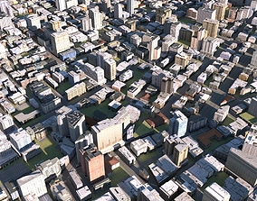 City 16 3D asset