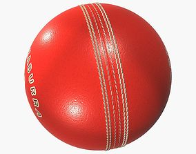 Kookaburra Cricket Ball 3D model