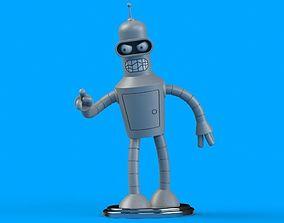 male Bender 3D Model
