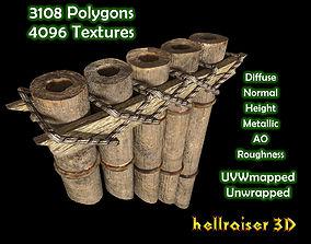 Pan Flute - Textured 3D asset