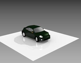 VolksWagen New Beetle TSI 3D asset