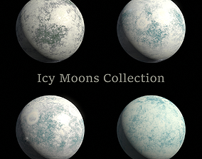 Icy Moons Collection - 8k PBR 3D
