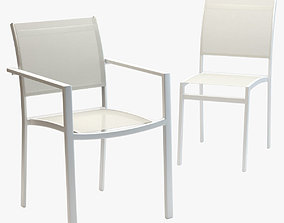 Varaschin Victor Armchair and Chair 3D asset