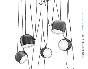 Pendant light-01 3D