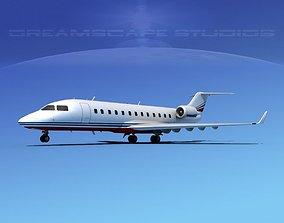 Bombardier Challenger 850 V05 3D model