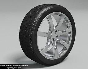 Tire Bridgestone Potenza 3D model