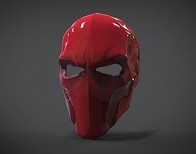3D model Helmet Red Hood
