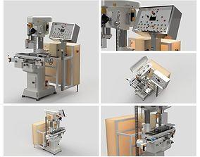 CNC Milling machine 3D