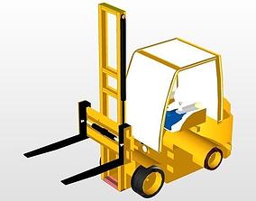 tractor 3D Forklift