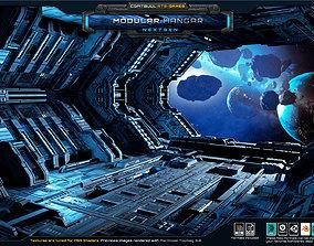 NextGEN - Modular Hangar 3D asset