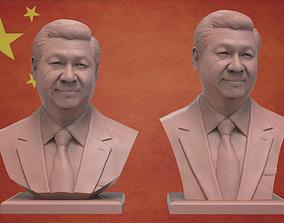president Xi Jinping 3D print model