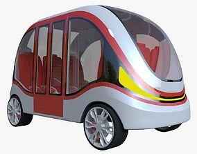 Smart minibus II 3D