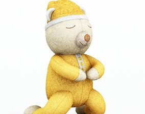 3D model Kids Sleepy Time Bear