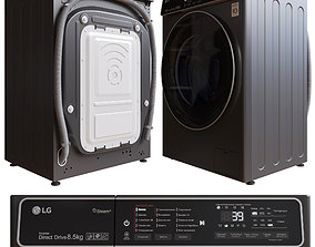 Washing machine AI DD LG F2T9GW9P 3D