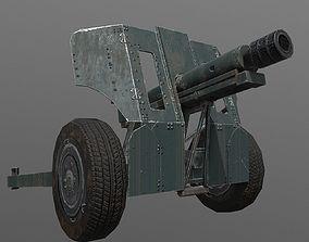 3D asset M48 Artillery
