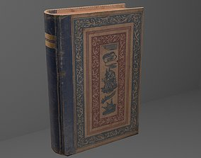 3D model CLOTH - COVERED BOOK