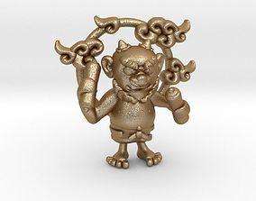 3D printable model Rai-Jin Pendant