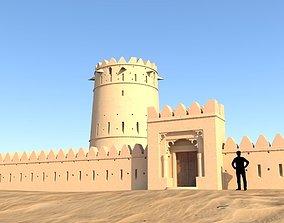 Arab Fort monnument 3D model