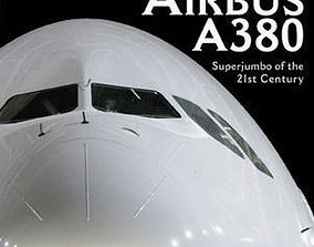 Most real AIRBUS A 380 - airplane 3d model jet