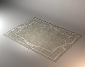 3D model model Modern Carpet Liveroom