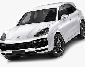 Porsche Cayenne Turbo 2018 3D