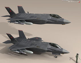 3D model F35A - Turkey Air Force