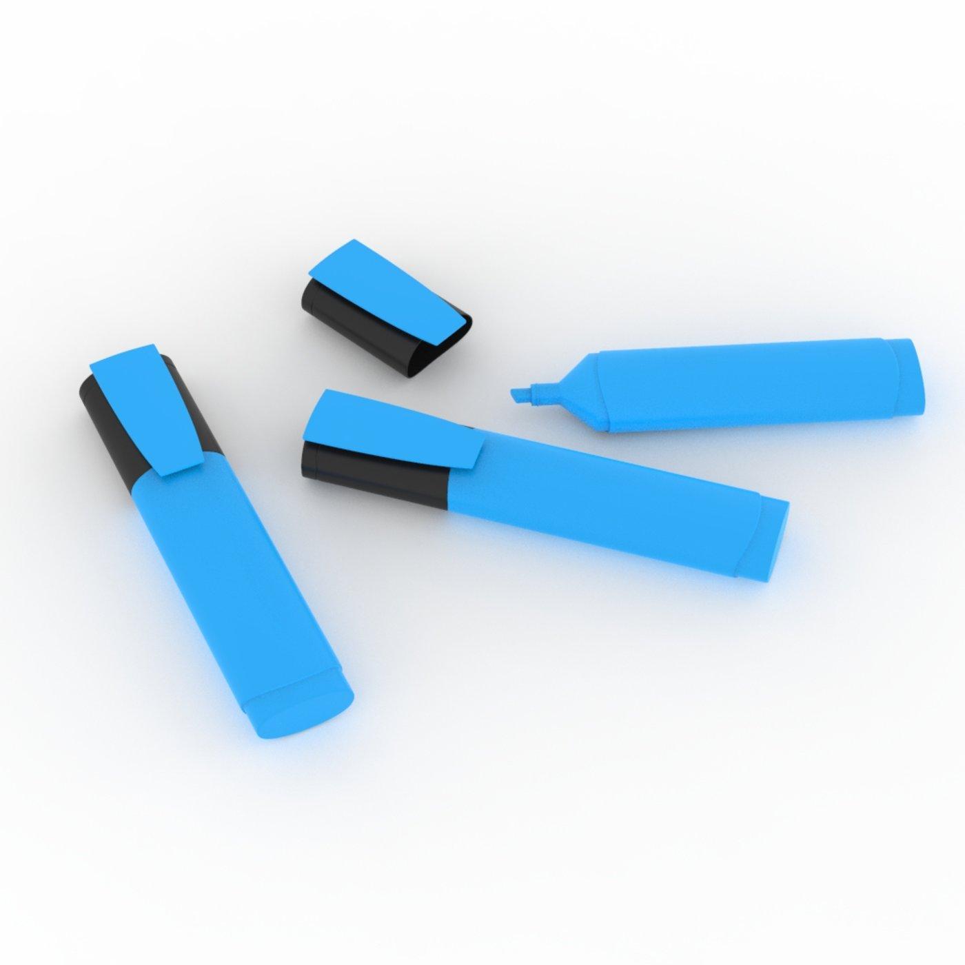 Blue Highlighter Model