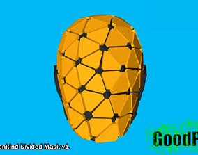 Deus Ex Mankind Divided Mask 3D printable model