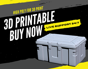 3D Print Hard Surface - Military Case Scifi Box