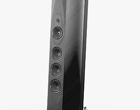 3D model Sonus faber Lilium Metal Black
