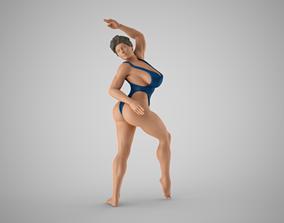 3D print model female Lithe Dancer