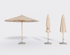 3D asset Umbrella Patio Parasol 1