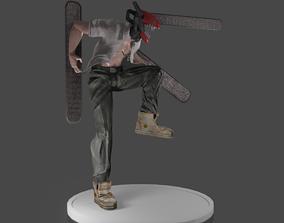 Denji Chainsaw Man PRINT READY