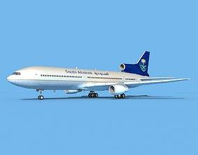 Lockheed L-1011 Saudi Arabian 3D