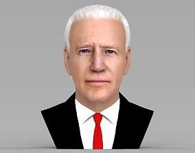 Joe Biden bust ready for full color 3D printing