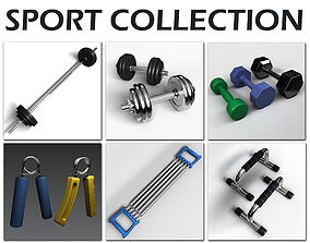 Sport Collection 3D model
