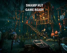 3D model Swamp hut
