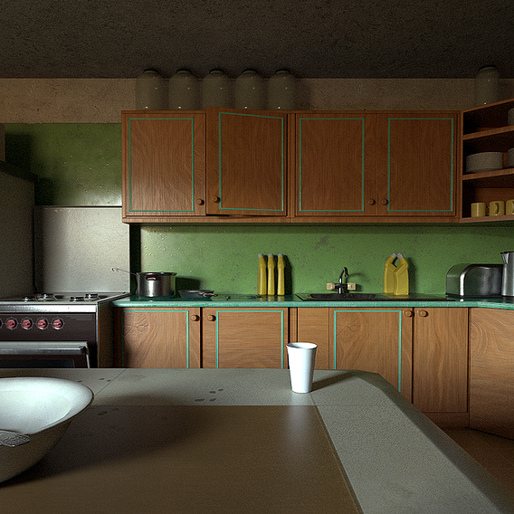 Ussr kitchen