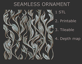 3D print model Seamless ornament