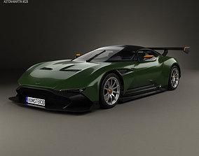 3D model Aston Martin Vulcan 2015