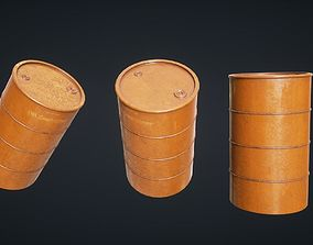 Mars Kitbash - Oil Container 3D asset