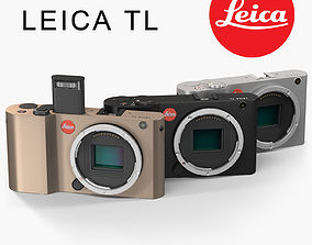 Leica TL Body 3D model