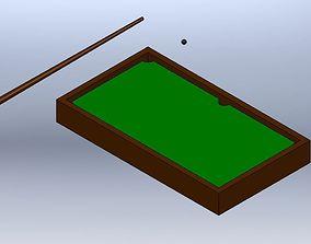 Desktop Pool Table 3D print model