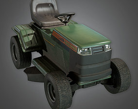 Riding Lawnmower TLS - PBR Game Ready 3D model