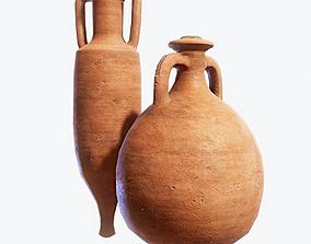 3D asset Roman Amphora Pack