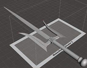 Mortal Kombat X Mileena weapon 3D print model
