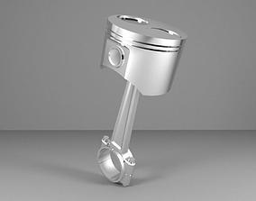 3D asset Piston