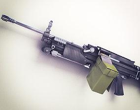 3D MG4 Machine Gun Hi-Res