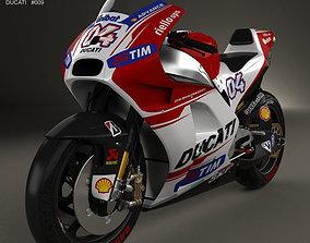 Ducati Desmosedici GP15 2015 3D