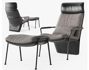3D armchair Polrtona Frau Arabesque